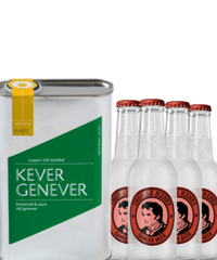 Kever Genever & 4 Thomas Henry Ginger Beer