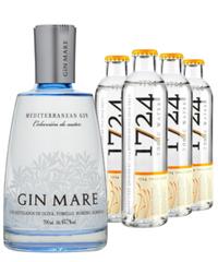 Gin Mare & 4 stk 1724 Tonic Water