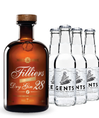 Filliers 28 Gin & 4 Gents Tonic