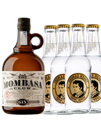Mombasa Club & 4 Thomas Henry Tonic