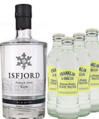 Isfjord Gin &  4 Franklin & Sons Tonic